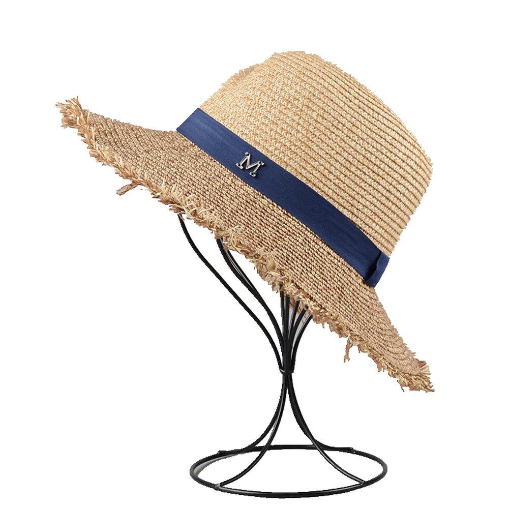 Fashion Woman Straw Sun Hat SummerSunshade Beach Travel Vacation Panama Hat