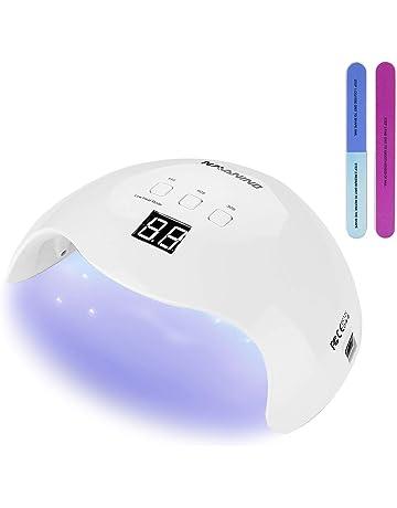 NAVANINO Lámpara Secador de Uñas, LED/UV Gel Esmalte de Uñas Curado Luz Máquina
