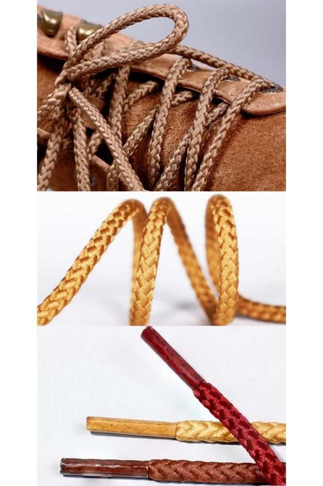 Alien Storehouse 2 Pairs 120cm Round Shoelaces Boot Laces Hiking Shoes Shoelaces #10 by Alien Storehouse (Image #2)