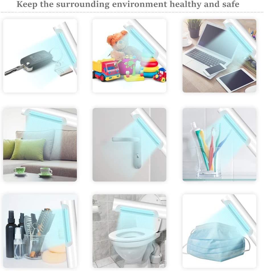 LXT Portable Light Wand with USB Charging for Hotel Household Bathroom Kids Toys Wardrobe Smartphone