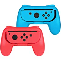Fintie Grip for Nintendo Switch Joy-Con, [Ergonomic Design] Wear-Resistant Comfort Game Controller Handle Kit for…