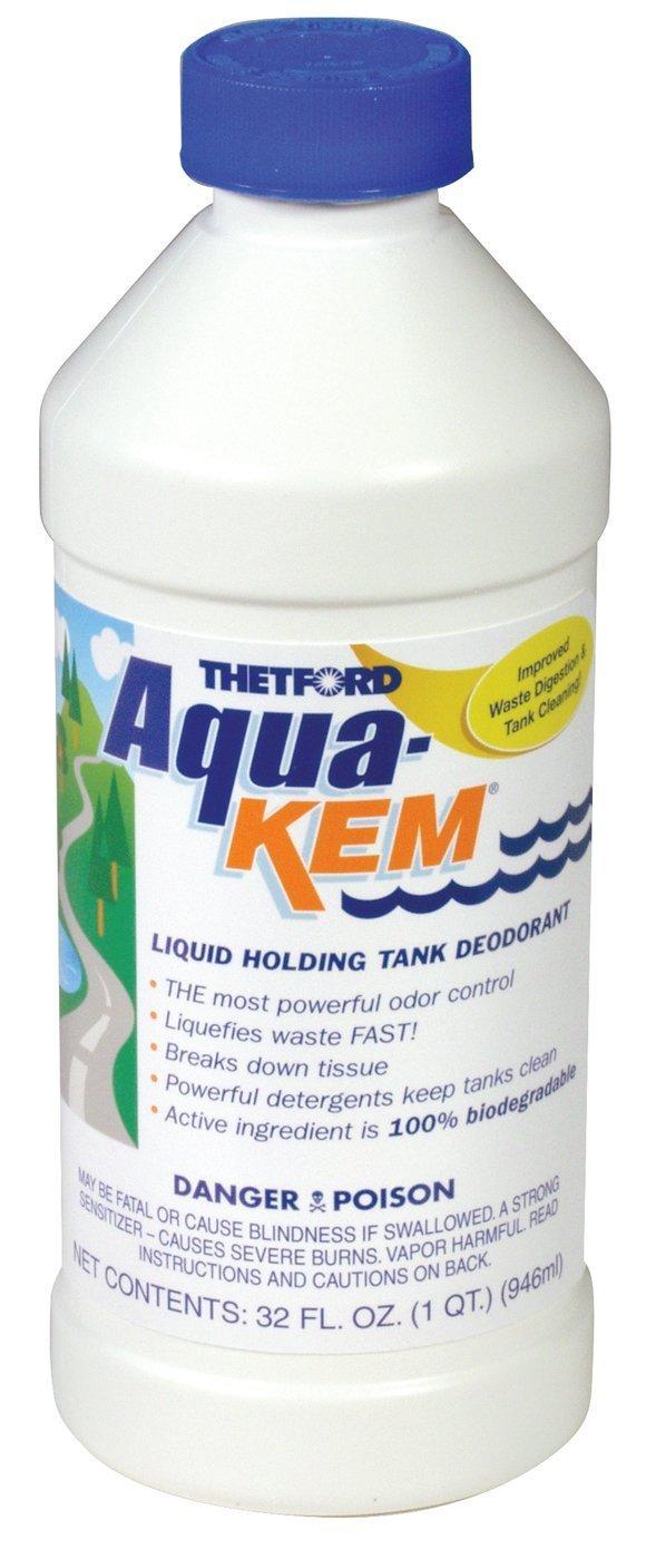 Thetford 09852 Aqua-KEM, 32 oz. (Quantity 12) by Thetford