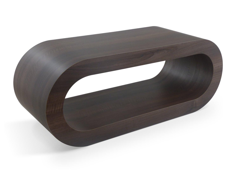 Medium Retro Matt Walnut 90cm Hoop Coffee Table / TV Stand: Amazon ...