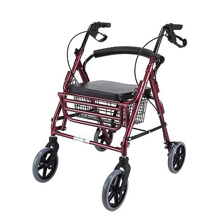 LHNLY-Andadores Estándares y Ligeros Caminante Andador con ...