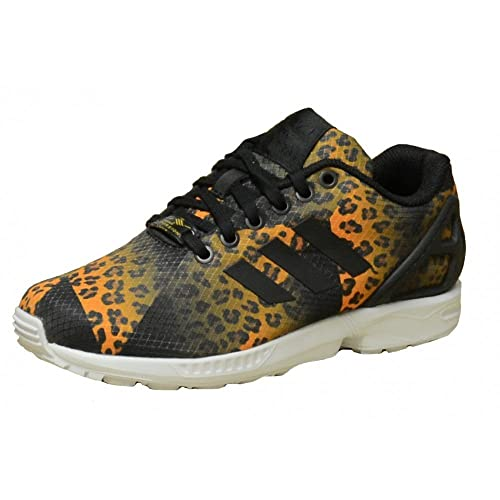 Zapatillas Adidas Originals ZX Flux Leopard: Amazon.es: Zapatos y complementos