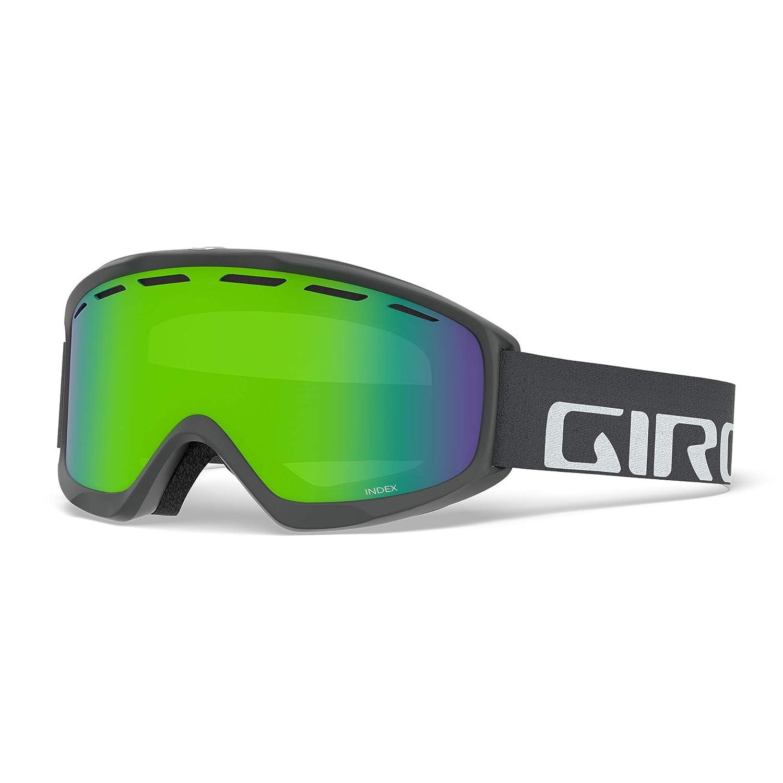 92fb43e955b Amazon.com   Giro Index OTG Snow Goggles Black Wordmark - Amber Scarlet    Sports   Outdoors