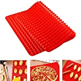 Silicone Baking Mat,OPACC Non-stick Healthy Cooking Bake Roasting Sheet (1)