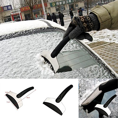 Leaftree - Protable Stainless Steel Car Snow Shovel Ice Deicing Clean Tool Kit
