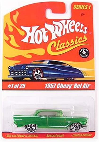 Amazon 57 Chevy Bel Air Hot Wheels Classics Series 1 1957