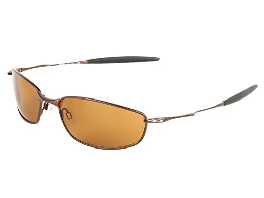 oakley sunglasses brown frame  oakley men's whisker sunglasses (brown frame/bronze lens)