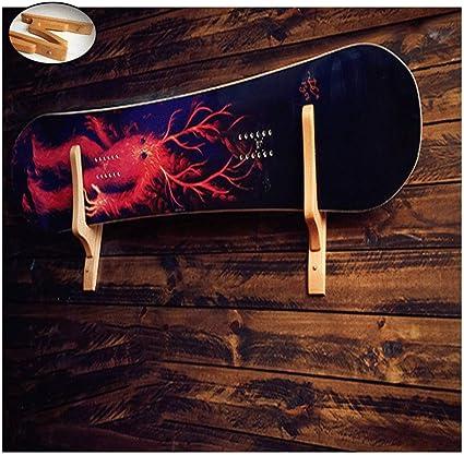 Axzxc Portaoggetti Per Sci Supporto Per Snowboard Tavola Da Surf Appendiabiti In Legno Indietro Porta Sci Da 60 Cm Espositore Per Sci Amazon It Casa E Cucina
