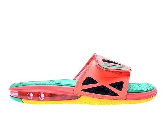 3192117c04c9e6 Amazon.com  NIKE Air Lebron 2 Slide Elite Mens Flip Flops 578251-838 Bright  Mango 13 M US  Sports   Outdoors