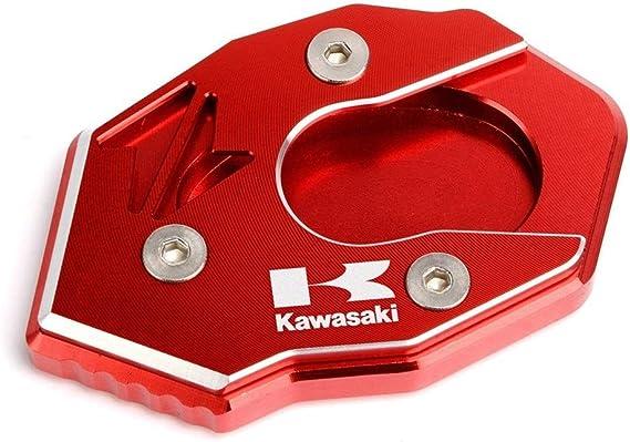 Color : Black For Kawasaki Z650 Z900 Z1000 Z1000SX ER-6N ZX6R ZX10R Motorcycle CNC Alunimun Cavalletto Piastra di estensione stand Enlarger