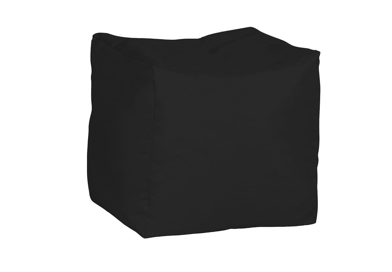 Bonkers Kidz Pod Water Resistant Polyester Bean Bag with Beans Filling Black