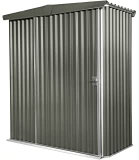 Stratco Sliding Door Storage Shed, 6.1 ft x 5.1 ft x 6.2 ft Utility Yard