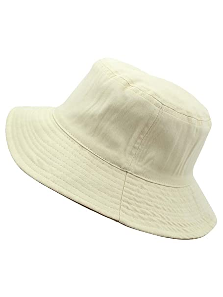 Beige Reversible Rain Or Shine Bucket Hat Size S M at Amazon Women s  Clothing store  5110a74df51
