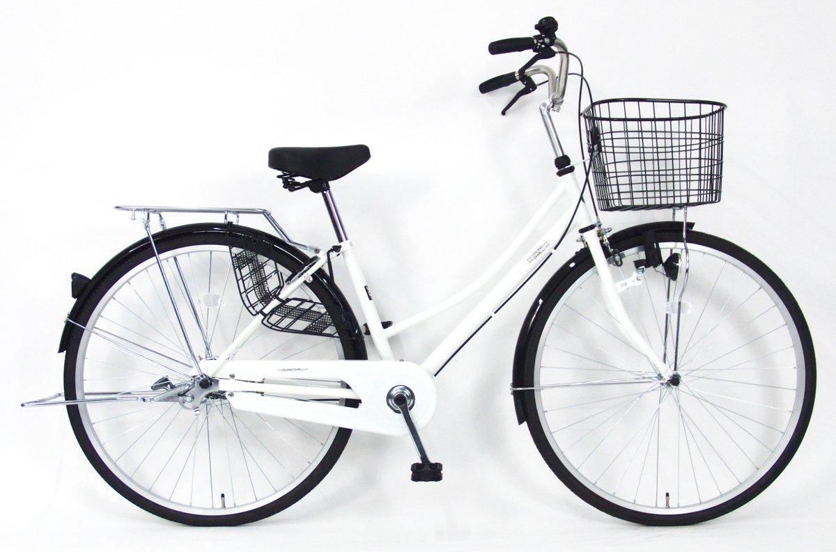 C.Dream(シードリーム) テクノタウン TW71 27インチ自転車 シティサイクル ホワイト 100%組立済み発送 B078V2HM6H