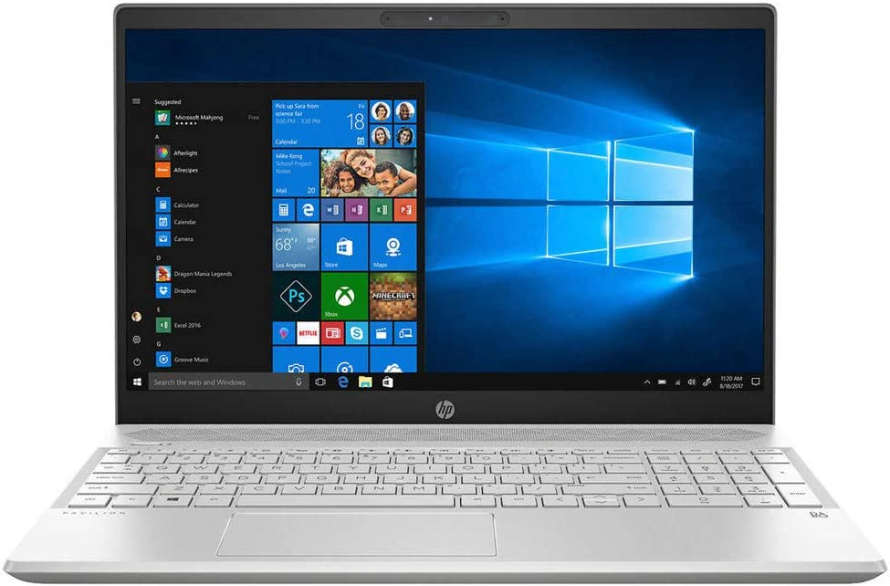"HP Pavilion 15 Business Laptop Computer 8th Gen Intel Quad-Core i7-8550U Up to 4.0GHz 8GB DDR4 1TB HDD 15.6"" FHD Touchscreen GeForce MX150 4GB AC WiFi Bluetooth 4.2 HDMI Windows 10 Pro"