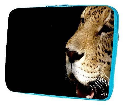 "Snoogg Leopardo Crying Funda 17 ""pulgadas a 17,5 pulgadas a 17,"