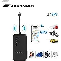 Localizador GPS,Zeerkeer GPS Tracker for Vehicles posición en Tiempo Real con Alarma geofence antirrobo Impermeable…