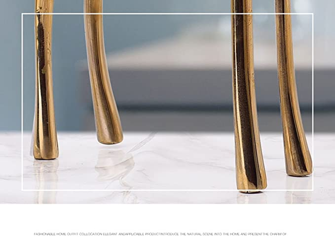 Amazon.com: PLDDY- Modern Minimalist Copper Deer Ornaments ...