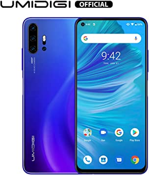 Teléfono Inteligente Desbloqueado 2020, UMIDIGI F2 Huella Dactilar ...