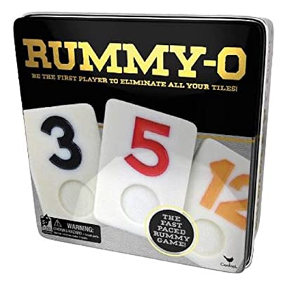 Deluxe Wholesale Rummy-O in Tin Box - Ages 6+: Toys & Games