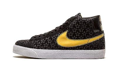 Nike Blazer Premium SB - Size 11 Black Metallic Gold 29926ae38027