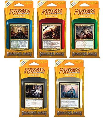 - M:TG Dragon's Maze Set of 5 Intro Packs