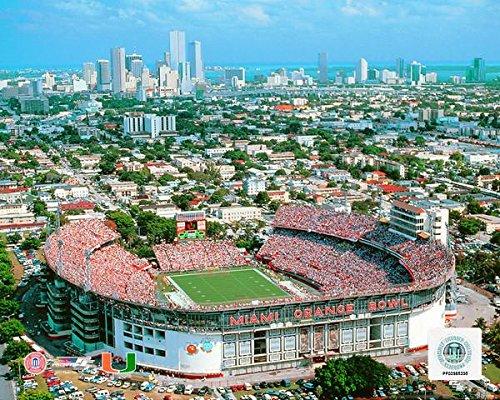 Orange Bowl Miami Hurricanes Stadium Photo (Size: 8