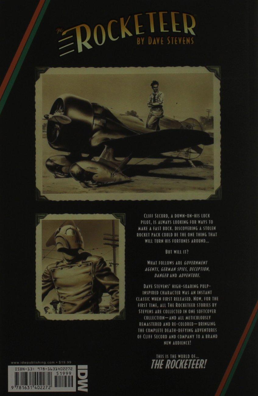 Rocketeer: The Complete Adventures (The Rocketeer): Amazon.es: Stevens, Dave, Stevens, Dave: Libros en idiomas extranjeros
