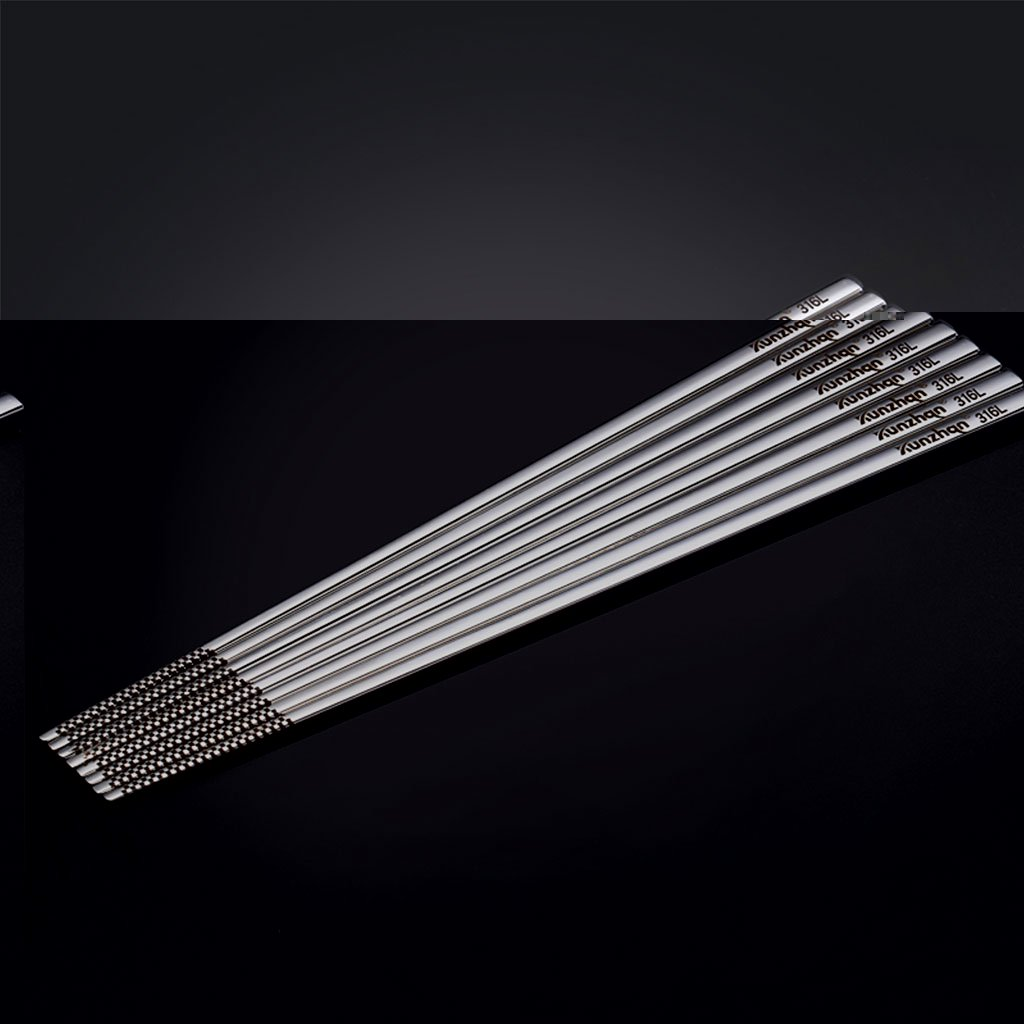 UK/_ Stylish Stainless Steel Anti-skid Hotel Restaurant Home Chopsticks Cutlery O