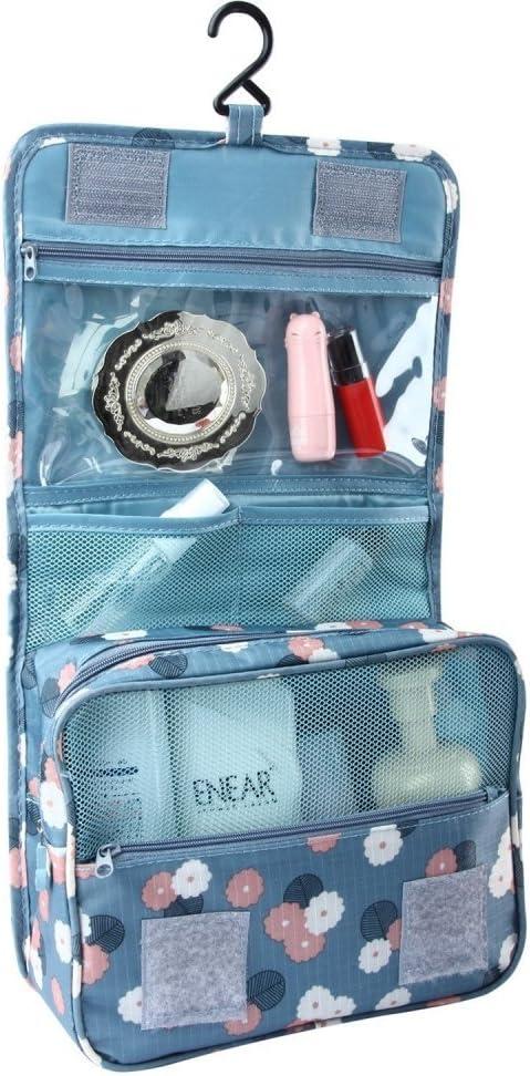 BlueBeach® Viajar Bolsas de aseo/Organizador cosmético del maquillaje portable y kit de afeitar de los hombres/Cuarto de baño de colgante Estuche de cosmética y kit de aseo de almacenamiento