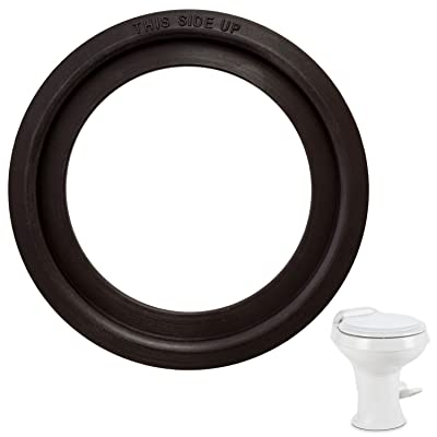 Mission Automotive Dometic -Compatible Flush Ball Seal for 300/310 / 320 RV Toilets - Comparable to Parts Number 385311658 Kit - Ideal Replacement Gasket: Automotive