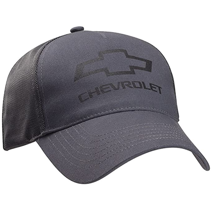 29e7e7e0289 Image Unavailable. Image not available for. Color  Chevrolet Bowtie Gray  Twill Mesh Hat Gray One Size