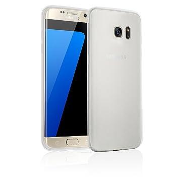 [ Samsung Galaxy S7 Edge ] - Carcasa JAMMYLIZARD Ultra Fina Goma De Silicona Jelly Back Funda, TRANSPARENTE