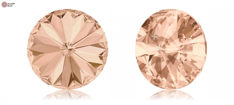 Cristales de Swarovski 284272 Piedras Redondas 1122 SS 29 Light Peach F, 720 Piezas