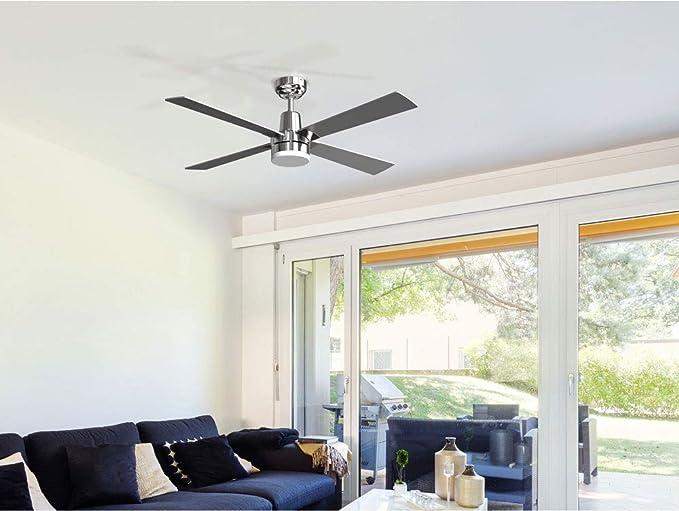 PURLINE ELECTRON Ventilador de techo de bajo consumo, 30W, super ...