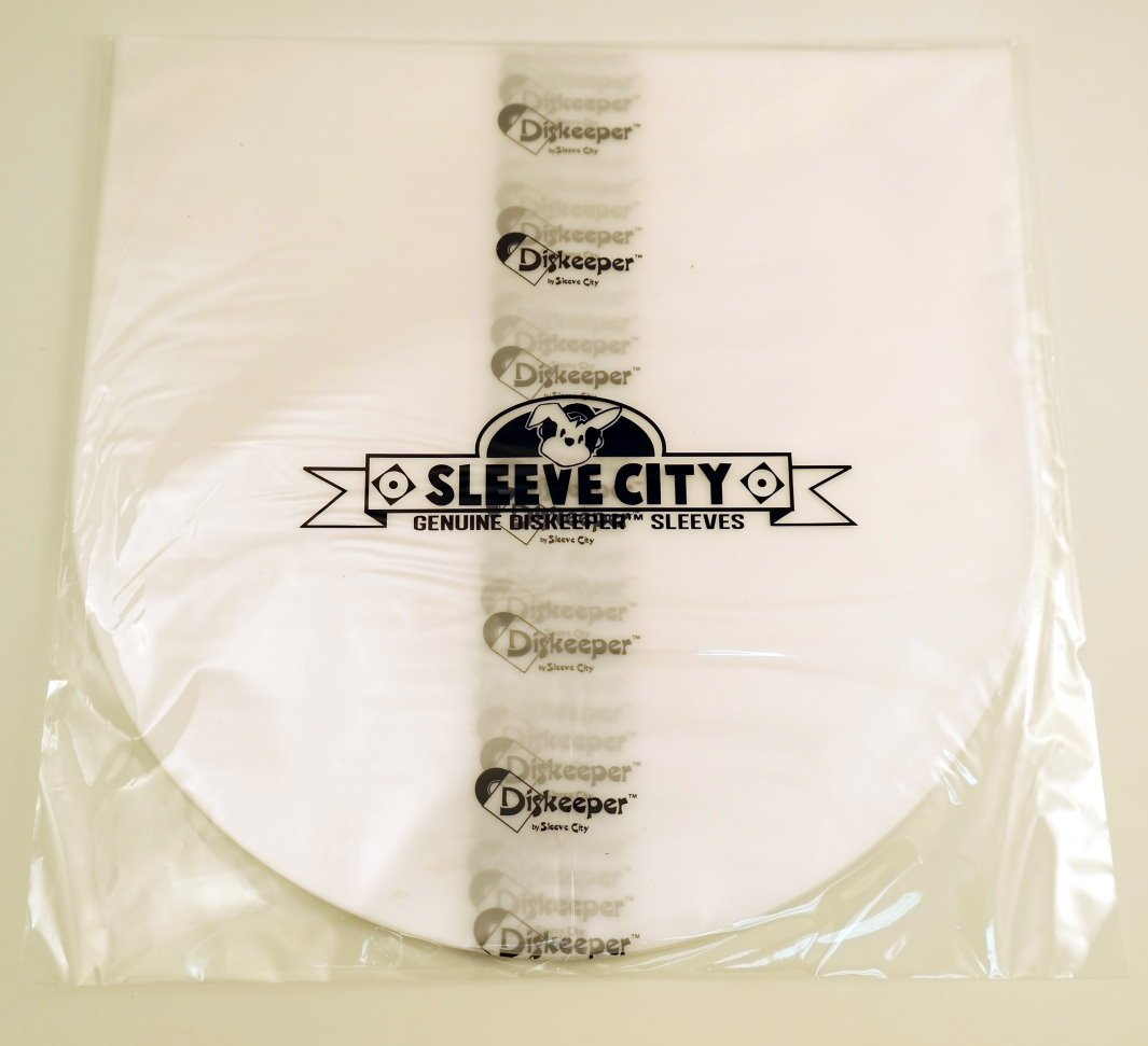 Diskeeper 1.5 Round Bottom LP Record Sleeves (50 Pack)