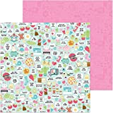 """Doodlebug So Punny Double-Sided Cardstock 12""""X12"""""""