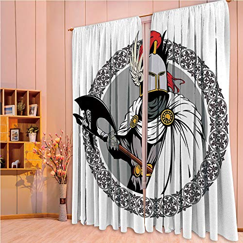 ZHICASSIESOPHIER Print Kids Curtains,Polyester Curtains Panels for