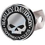 Harley-Davidson Hitch Plug Willie G Skull Brushed