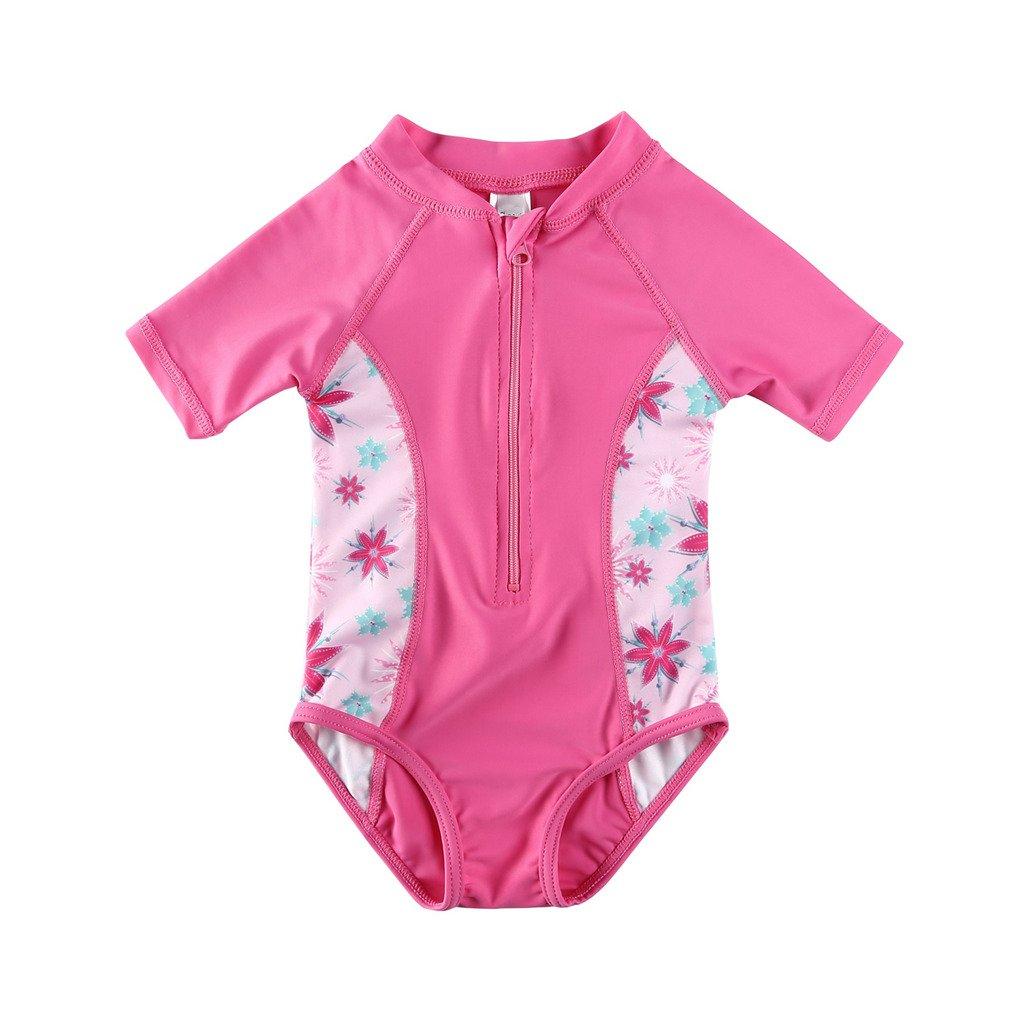 Vivafun Baby Girl Sun Protective Swimwear Rash Guard Shirt YILAN FUSHI CO.LTD