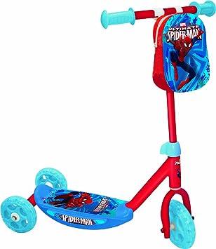 Mondo Toys Spiderman - Mi Primer Patinete con 3 Ruedas 18320