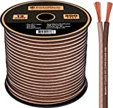 InstallGear 12 Gauge Speaker Wire - 99.9% Oxygen-Free Copper - True Spec and Soft Touch Cable (500-feet)