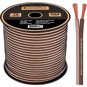 Installgear Speaker Wire : installgear 12 gauge speaker wire 99 9 oxygen free copper true spec and soft ~ Russianpoet.info Haus und Dekorationen