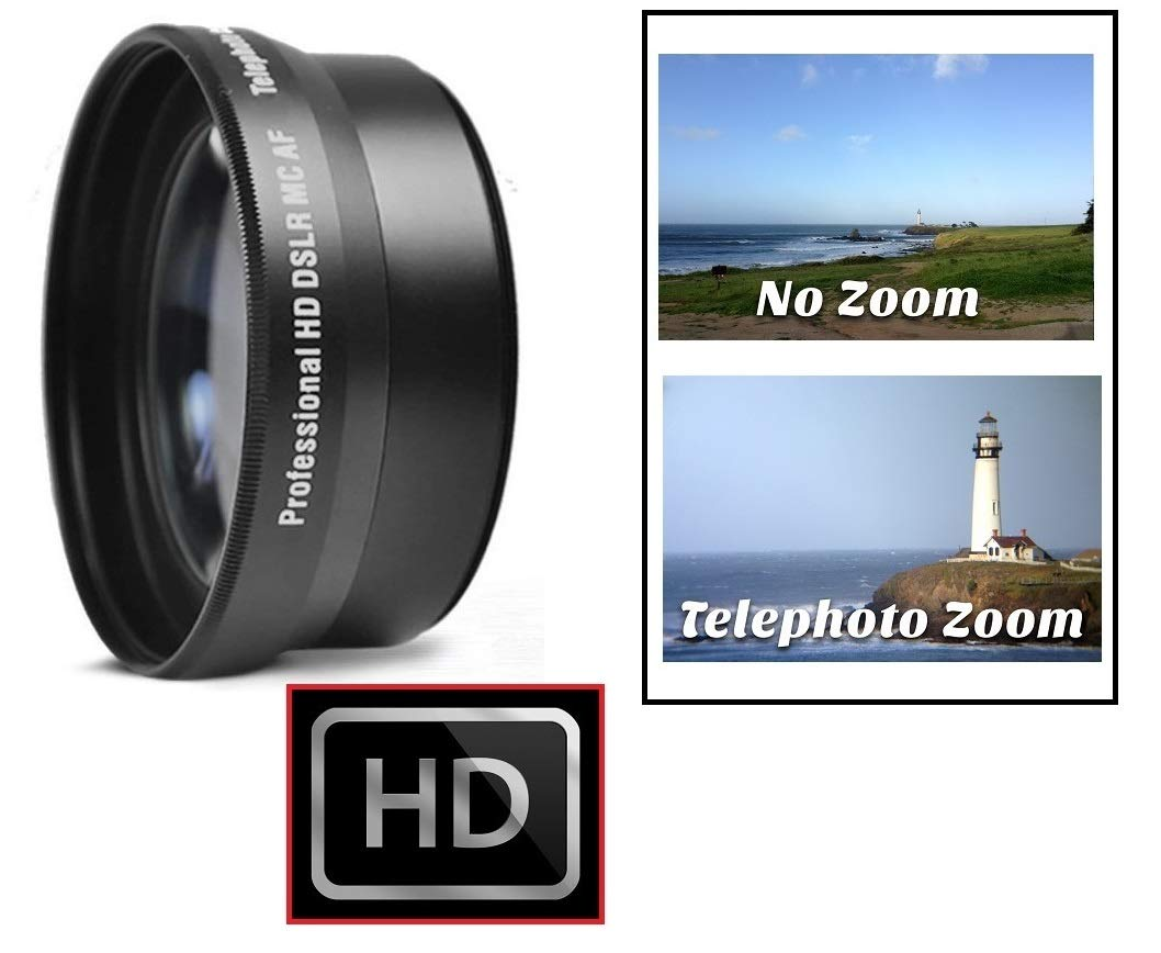 0.21x Extreme-Fish-Eye Lens New West Micro Fiber Cloth for Sony HDR-XR150