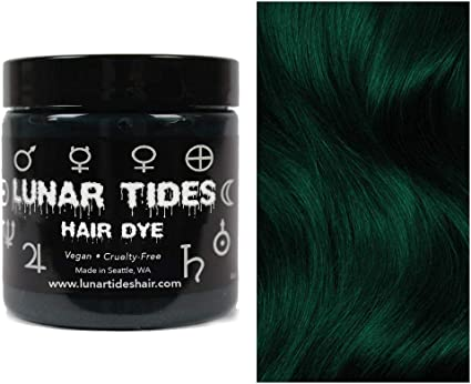 Juniper Green, tinte semi permanente para el cabello verde - 118 ml - Lunar Tides