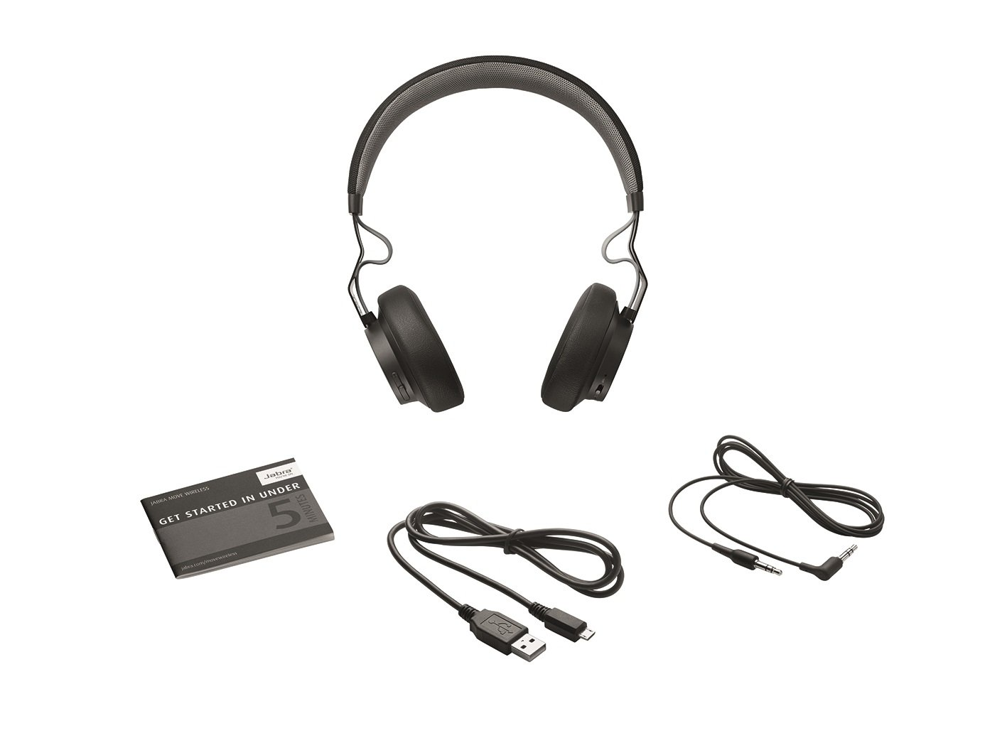 Jabra Move Wireless Stereo Headphones - Black by Jabra