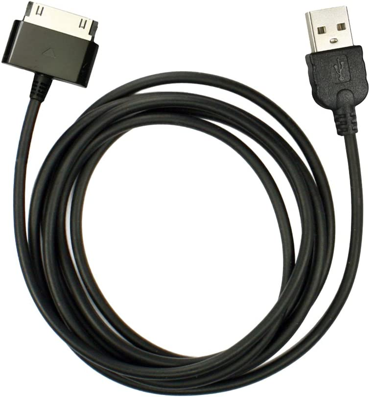 Fenzer Black USB Data Sync Charger Cable for Samsung Galaxy Tablet 2 7.0 Plus 7.7 8.9 10.1 10.1v